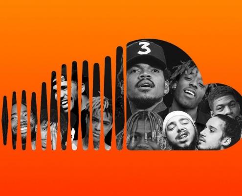 تصویری از خوانندگان معروف در ساند کلود ( SoundCloud )