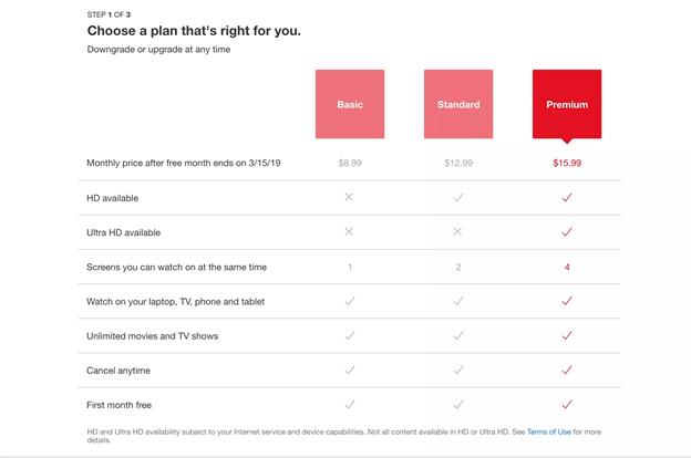 برای پخش Netflix در 4K ، باید اکانت پرمیوم  نتفلیکس را خریداری کرده باشید.