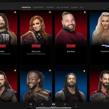 برخی از ورزشکاران WWE