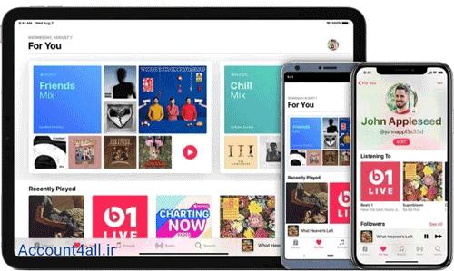 دسترسی به اکانت اپل موزیک در تمام دستگاه ها